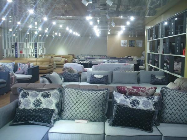 兴丽欧式左右贵妃新款布沙发