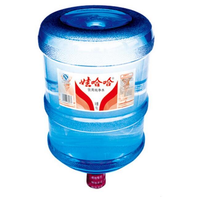 娃哈哈桶装矿物质水19l