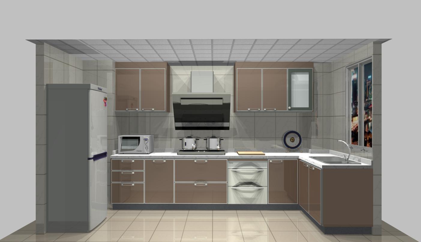 富顺海尔整体厨房专卖店—橱柜电器