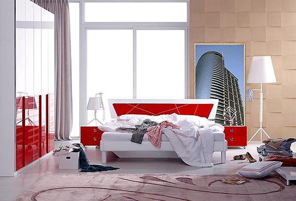 标致家具图片欧式床